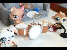 LPS - DIY Guitar | Pawesome Miniatures!! - YouTube