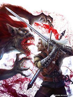 The Witcher by SharksDen.deviantart.com