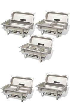 Warming Buffet Trays Stainless Steel Serving Heater Dishes Hotel Restaurant Part Keep Food Warm, Kitchen Equipment, Trays, Buffet, Restaurant, Stainless Steel, Dishes, Drink, Beverage