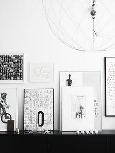 Kungsholmen apartment. Styling: Lotta Agaton Photo: Pia Ulin. Elle Interiör.