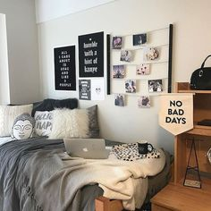 Nice 65 Creative Dorm Room Decor Ideas on A Budget #decor #Dorm #room