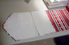 Como hacer carteras de mano con tela en forma de sobre