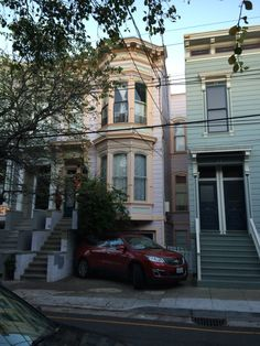 Daley's neighborhood, near 20th St. and Carlos, the Mission, SF.