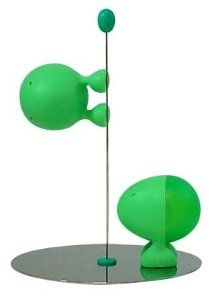 Lilliput Salt and Pepper Shakers by Stefano Giovannoni Color: Green . $43.00
