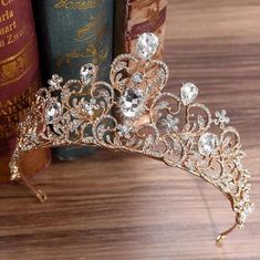 Stunning Rose Gold or White Gold & Colorful Crystal Bridal Crown / Party Tiara (Multiple Colors) Stunning Rose Gold or White Gold & Colorful Crystal Bridal Crowns – A Lark And A Lady Promo code: for your entire order. Wedding Headband, Crown Headband, Bridal Crown, Bridal Tiara, Wedding Hair, Bridal Headpieces, Hair Jewelry, Bridal Jewelry, Jewellery