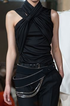 Bouchra Jarrar Haute Couture FW 2013wow to the belt detail!!!!!!!!!!!!!!!!