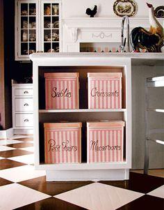 "Dream Kitchen - House Beautiful ""Candy Land"" Kitchen Design - French-Inspired Kitchen - Jamie Gottschall - House Beautiful"