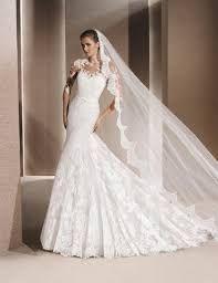 Vestidos de novia corte sirena de disenador