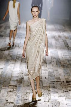 Lanvin Spring 2008 Ready-to-Wear Fashion Show - Anabela Belikova (SILENT)