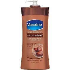 Vaseline Cocoa Butter Deep Conditioning Body Lotion with Cocoa Butter & Vitamin E, 10 oz. (Health and Beauty)