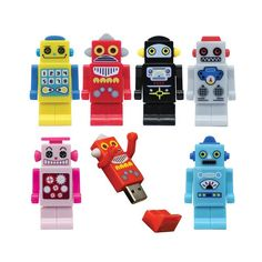 DCI Robot Flash Drive