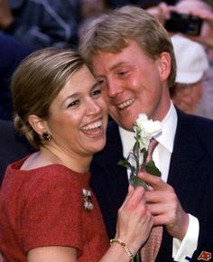 March 30th, 2001: Engagement of Crown Prince Willem-Alexander and his Argentine girlfriend Máxima Zorreguieta.