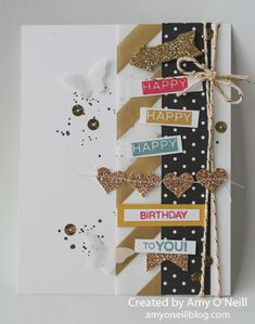 A Glammed Up Birthday Card