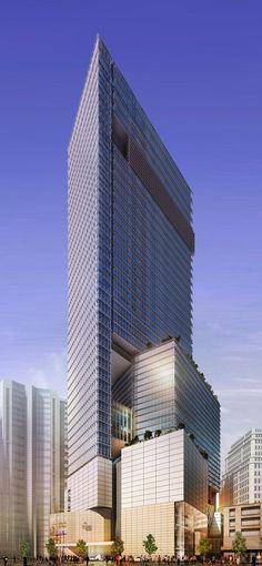 HK Hysan tower by KPF