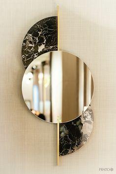 FRATO's elegant interiors at Maison & Objet Paris January 2019 www. - FRATO's elegant interiors at Maison & Objet Paris January 2019 www. Glass Design, Wall Design, House Design, Wall Mirror Design, Modern Mirror Design, Art Deco Mirror, Design Homes, Spiegel Design, Diy Resin Art