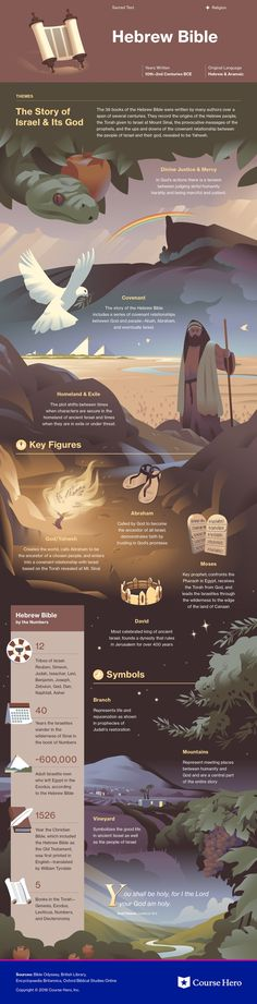 This @CourseHero infographic on Old Testament is both visually stunning and informative!