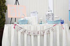 Cute idea for card/gift table