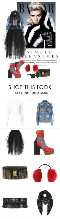 """Be fabulous, always ...!"" by katelyn999 ❤ liked on Polyvore featuring Proenza Schouler, Frame, Elie Saab, Pierre Hardy, Balmain, MCM, Alaïa, Yves Saint Laurent and Linda Farrow"