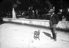L'homme au chevreau, Luchon, Haute-Garonne, 1910