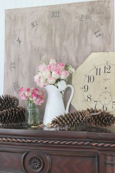 FRENCH COUNTRY COTTAGE: DIY Clock face Decor #lowescreator