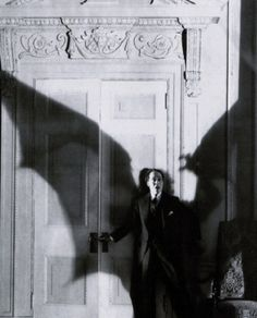 old hollywood:    Ricardo Cortez in production still from D.W. Griffith's Faustian tale The Sorrows of Satan (1926), which was based on Marie Corelli's 1895 novel.