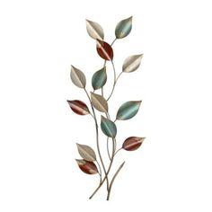 Metal leaves.