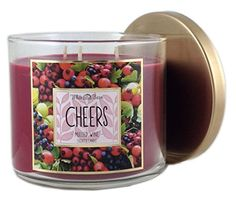 Bath & Body Works White Barn Cheers Mulled Wine Scented Candle 3 Wick 14.5 Oz 2015 Fall Harvest Collection White Barn http://www.amazon.com/dp/B016U2XXD2/ref=cm_sw_r_pi_dp_02G3wb0J5Y1RP