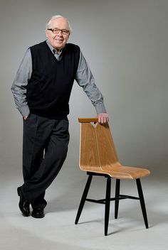Risto Halme and 1960 collection chair