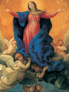 """Guido RENI Assomption de la Vierge  Alte Pinacotek Munich, Not """"Assumption (Tiziano) """""""