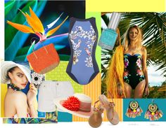 """""""Tropical Princess"""" by girlgonegreen on Polyvore"""