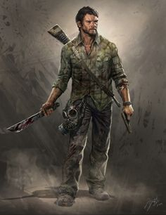 The Last Of Us. Joel Concept