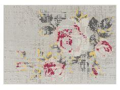 FLOWERS NATURAL Teppich by GAN By Gandia Blasco Design Charlotte Lancelot
