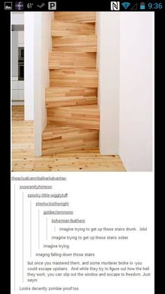 I need to get these stairs.
