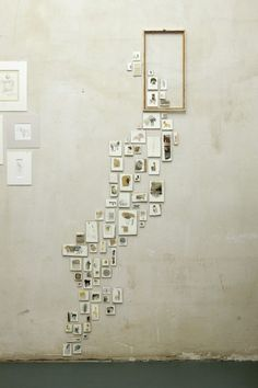 LOVING THIS! from my scandinavian home: Wall space: pretty pictures the imperfect way