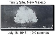 On just two days a year (the first Saturday in April and October), the public is permitted to tour the Trinity Site, where the first atomic bomb was detonated on July 16, 1945, 35 miles west of Carrizozo. The eerie tour includes the base camp, the McDonald Ranch house where the plutonium core for the bomb was assembled, and ground zero itself. The test was carried out above ground and resulted in a quarter-mile-wide crater and an 8-mile-high cloud mushrooming above the desert.