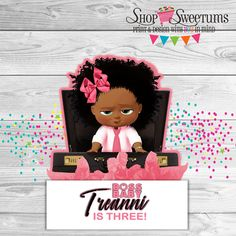 Best representation descriptions: Related searches: African American Boss Baby Girl,Afro Clip Art Baby Girl,Boss Baby Logo Pink,Logo Boss B. Boss Birthday, 4th Birthday Parties, 1st Birthday Girls, Birthday Ideas, Baby Boy Themes, Party Themes For Boys, Baby Theme, Boss Baby, Girl Boss