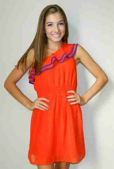 Gator Gameday, love this cute dress!