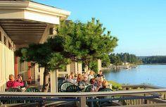Dining on Lopez Island