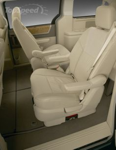 Chrysler Town and Country Minivan Interior The Group