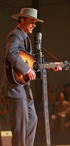 """Hey, Good Lookin.'' Tom Hiddleston as Hank Williams in I Saw The Light. STUNNING!!!!!. Full size photo: http://i.imgbox.com/jJnP8ESV.jpg. Source: Indiewire http://blogs.indiewire.com/theplaylist/first-look-tom-hiddleston-as-hank-williams-in-i-saw-the-light-20150812"
