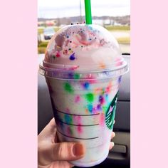 Birthday cake frap