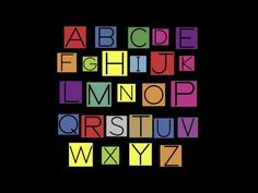 I came across Alphabet Songs on YouTube and I fell in love with them. If you watch the video, you will love them too!