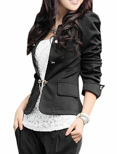 Allegra K Lady Long Sleeve Front Butterfly Knot Decor Back Elegant Blazer Allegra K,http://www.amazon.com/dp/B00AOCWJU8/ref=cm_sw_r_pi_dp_tN7nsb1F4PQKWKAM