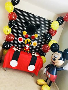 Mickey Birthday Decoration Mouse Decorations Theme 1st Birthdays