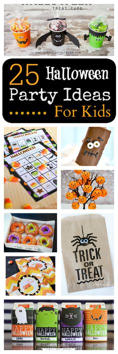 25 Ideas for Kids School Class Halloween Party