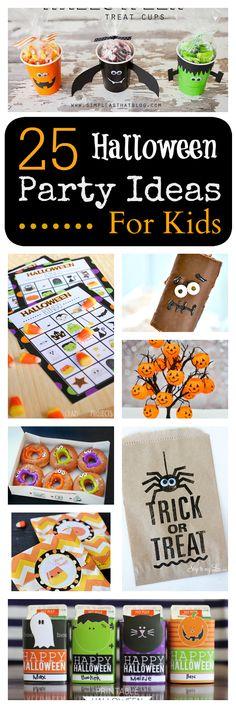 25 Ideas for Kids School Class Halloween Party