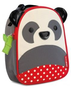 Skip Hop Panda Zoo Lunchies $24.95 www.mamadoo.com.au #mamadoo #backtoschool #lunchboxes #lunchbags
