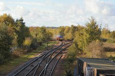 """D1015 """"Western Champion"""" approaches Mexborough Junction"""