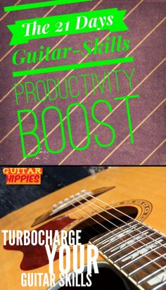 Become a much better guitarist in only 21 days. Read more details inside. #guitar#music#guitarpractice#guitarhippies GuitarHippies - Inspiring Your Musical Journeys