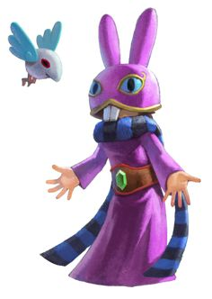Ravio and his pet bird, Sheerow Title(s) Hero of Lorule Gender Male Game(s)A Link Between Worlds Voice Actor(s)Mitsuki Saiga Counterpart(s)Link (Hyrulean) Ravio is a mysterious character in A Link Between Worlds. Originally a resident of the kingdom of Lorule, he spends a vast majority of the game posing as a simple shopkeeper in Hyrule, renting various items to his Hyrulean counterpart Link in order to help him advance in his quest